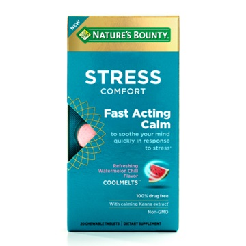 Introducing Nature's Bounty® Stress Comfort Fast-Acting Calm